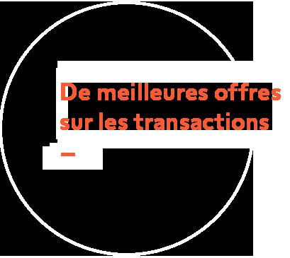 Meilleures offres sur les transactions