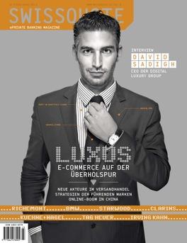 Swissquote Magazine 23